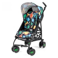 Детская коляска Peg Perego Plico mini без бампера (Чёрный/аппликация)