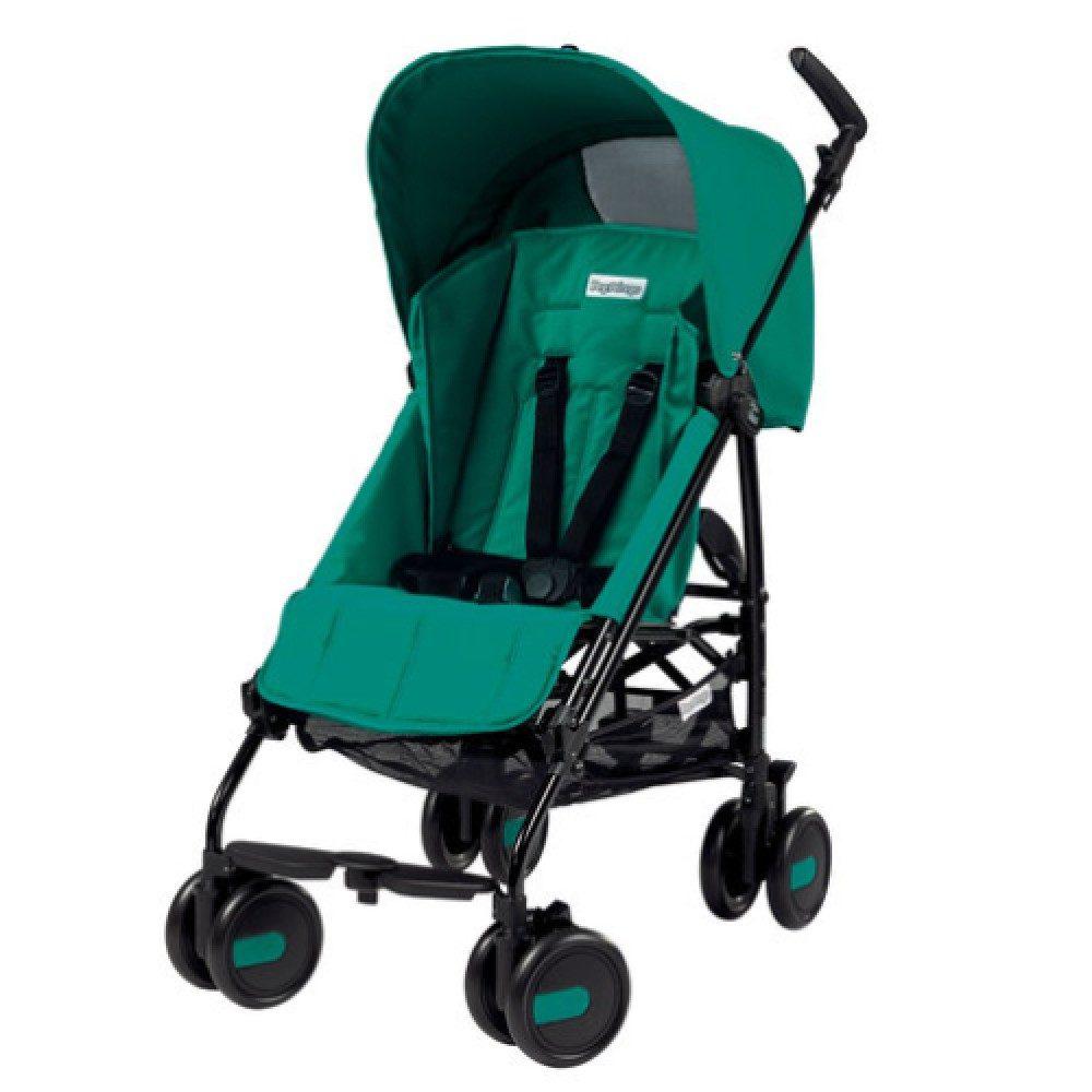 Коляска-трость Peg Perego Plico mini без бампера (Зеленый)