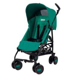 Коляска-трость Peg Perego Pliko Mini с бампером (Зеленый)