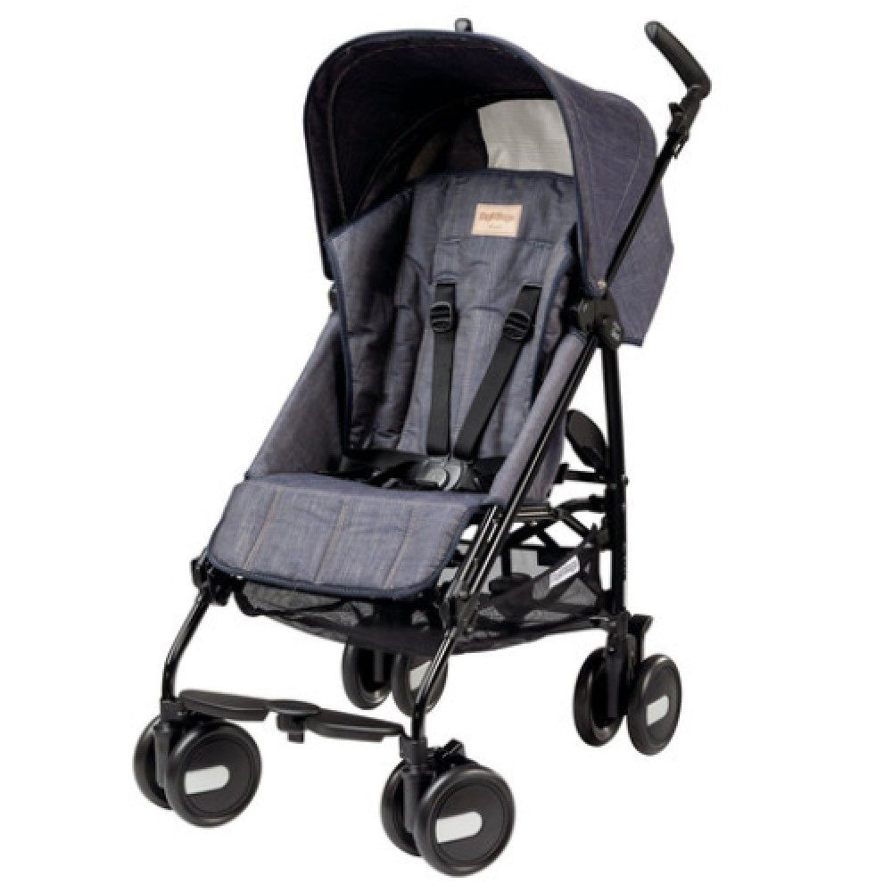 Детская коляска Peg Perego Plico mini без бампера (Серый)