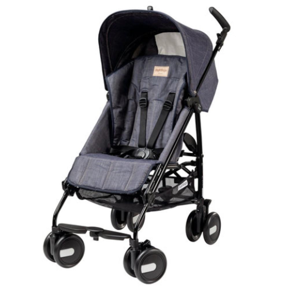 Детская коляска Peg Perego Pliko Mini с бампером (Серый)