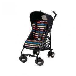 Детская коляска Peg Perego Plico mini без бампера (Чёрный/разноцветный)