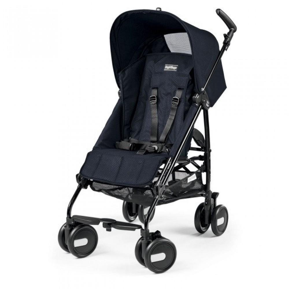 Детская коляска Peg Perego Plico mini без бампера (Черный)