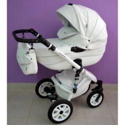 Детская коляска Riko Brano 100% eco 2 в 1 (Белый)