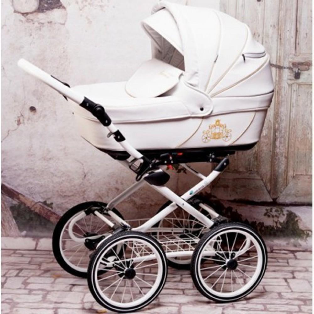 Детская коляска Esperanza Classic Kareta 3 в 1 (белый)