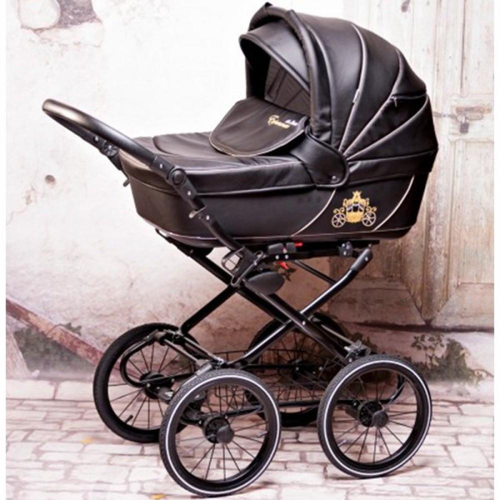 Детская коляска Esperanza Classic Kareta 3 в 1 (черный)