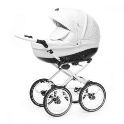 Детская коляска Esperanza Lotus Classic Eco 3 в 1 (белый)
