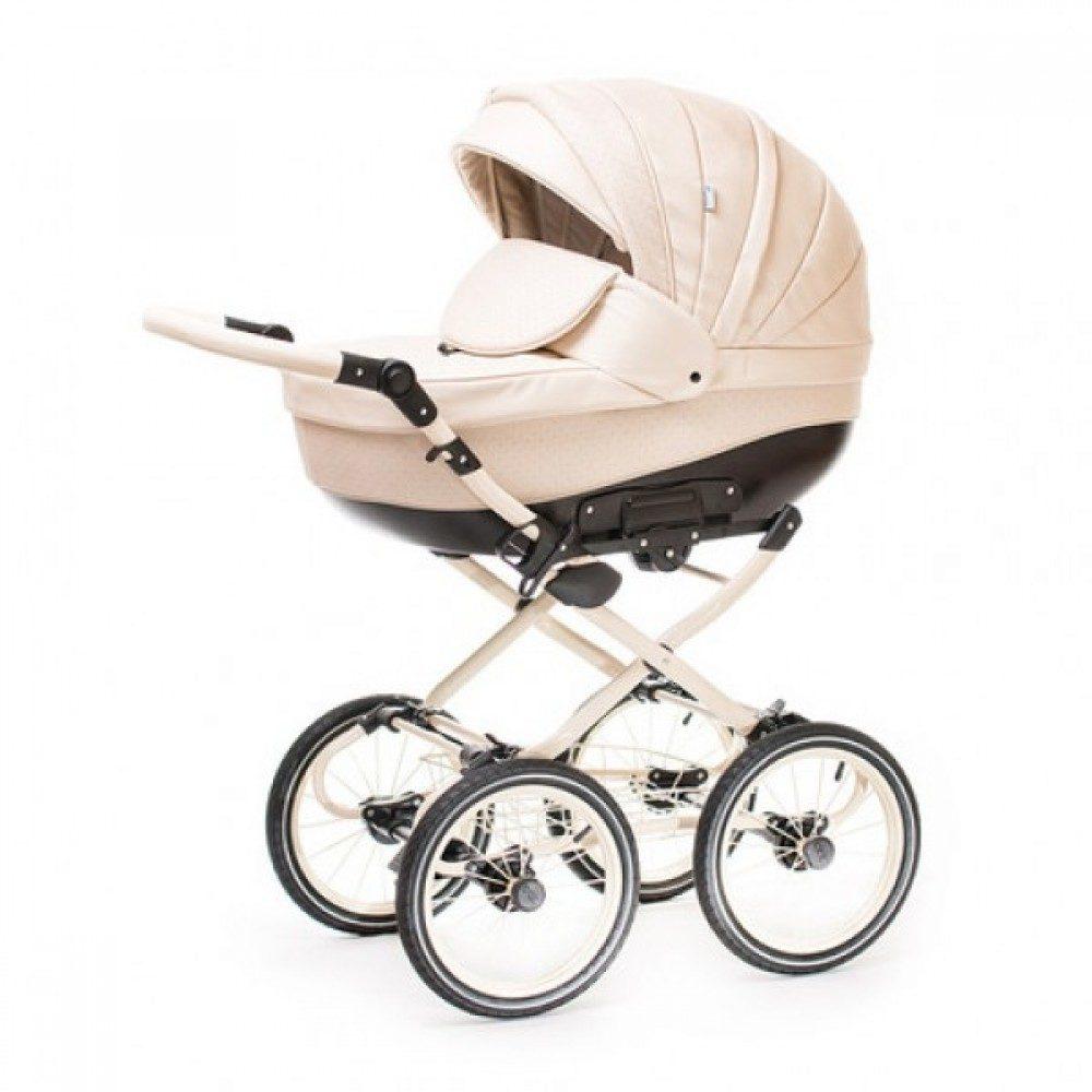 Детская коляска Esperanza Lotus Classic Eco 3 в 1 (бежевый)