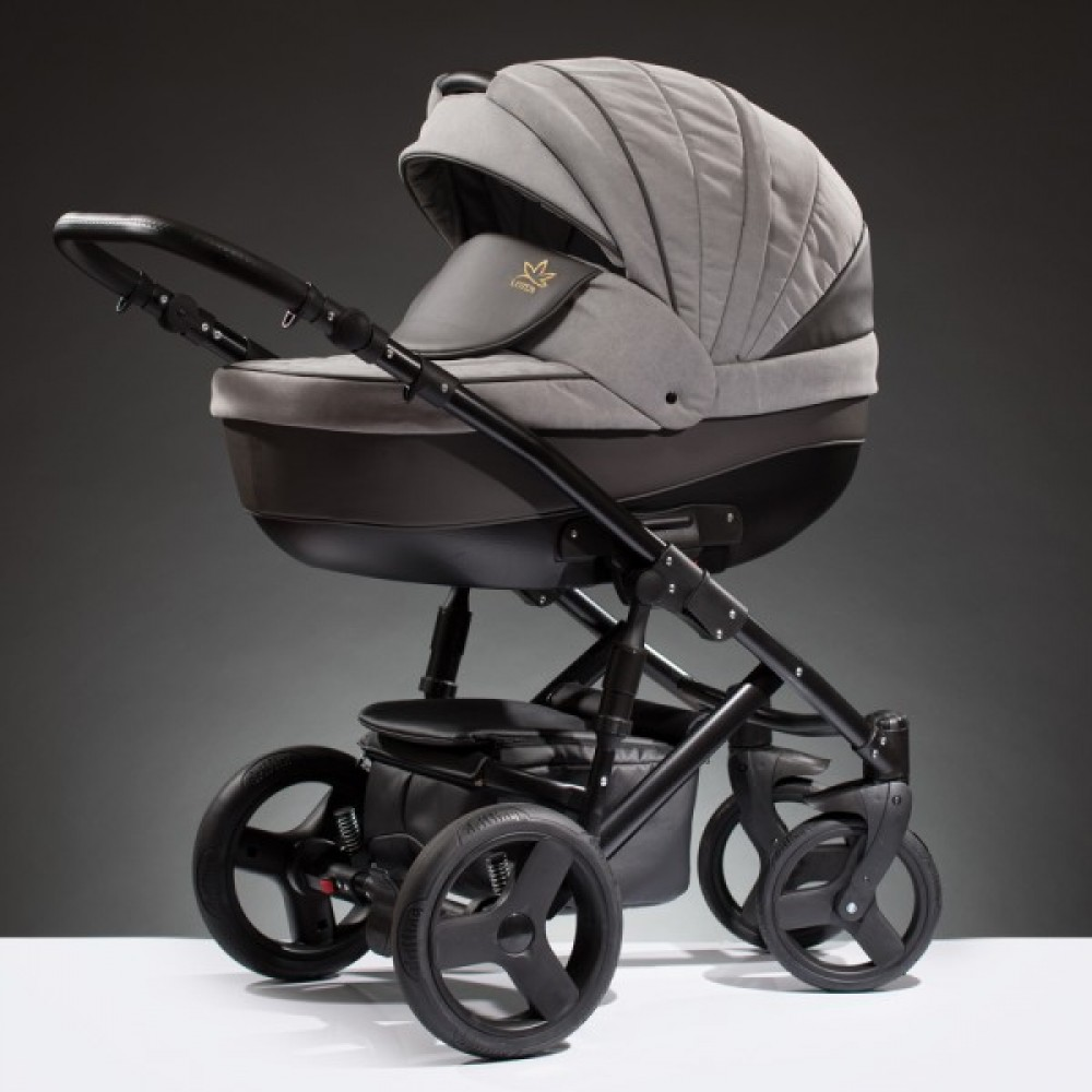 Детская коляска Esperanza Lotus Puento 2 в 1 (серый)