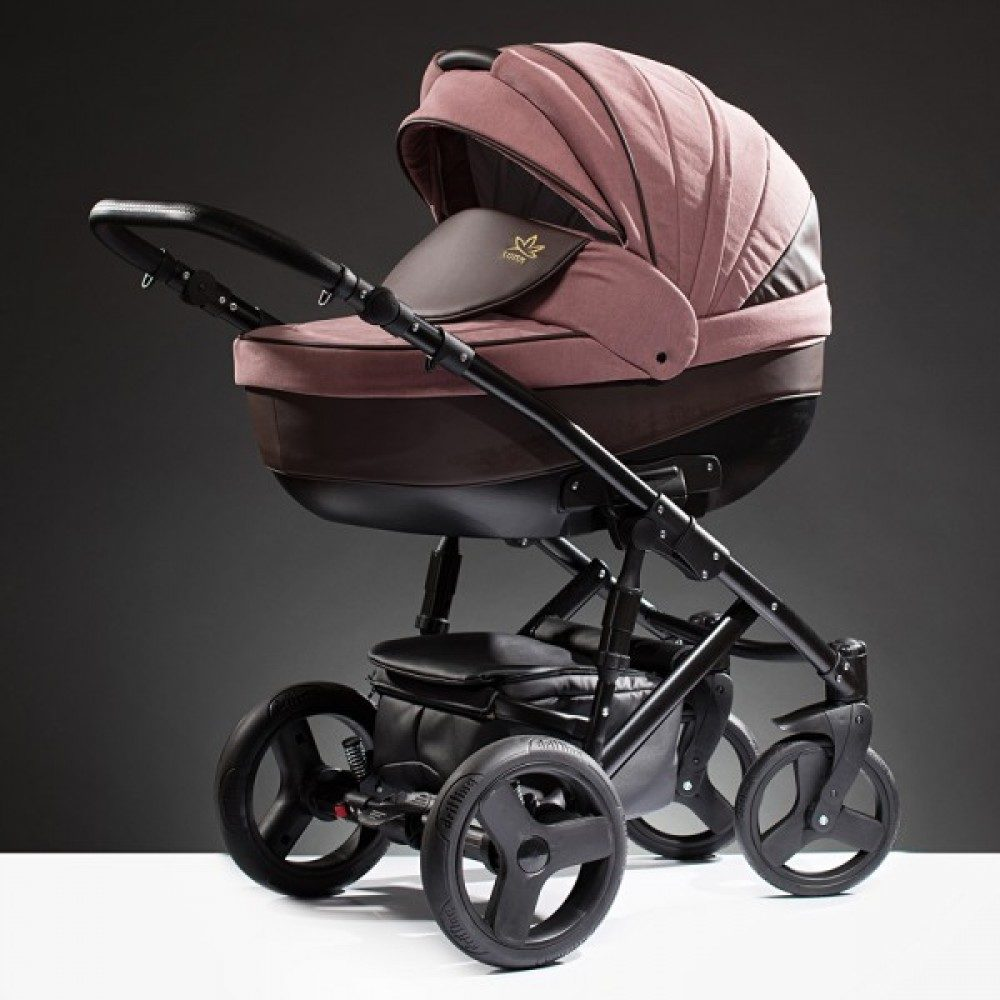 Детская коляска Esperanza Lotus Puento 3 в 1 (розовый)
