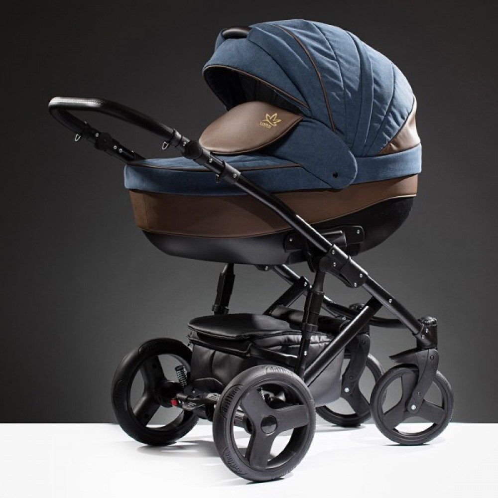 Детская коляска Esperanza Lotus Puento 2 в 1 (синий)