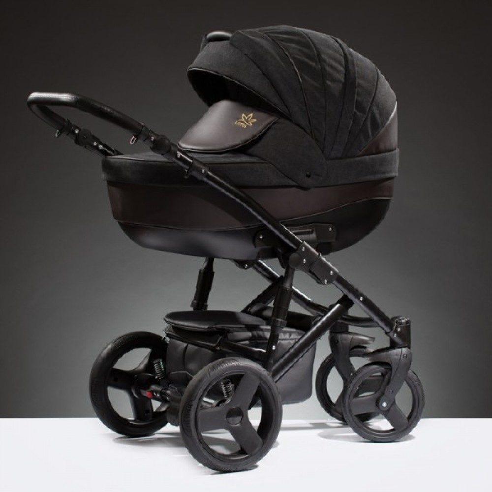 Детская коляска Esperanza Lotus Puento 2 в 1 (черный)