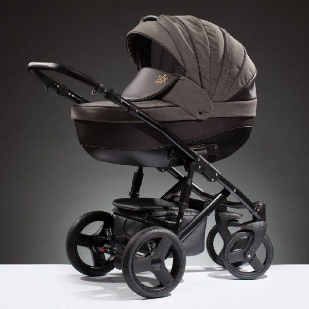 Детская коляска Esperanza Lotus Puento 3 в 1 (коричневый)