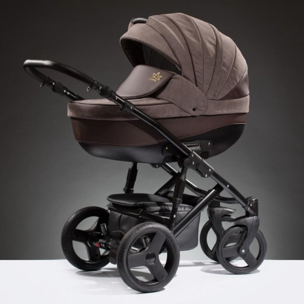 Детская коляска Esperanza Lotus Puento 2 в 1 (коричневый)