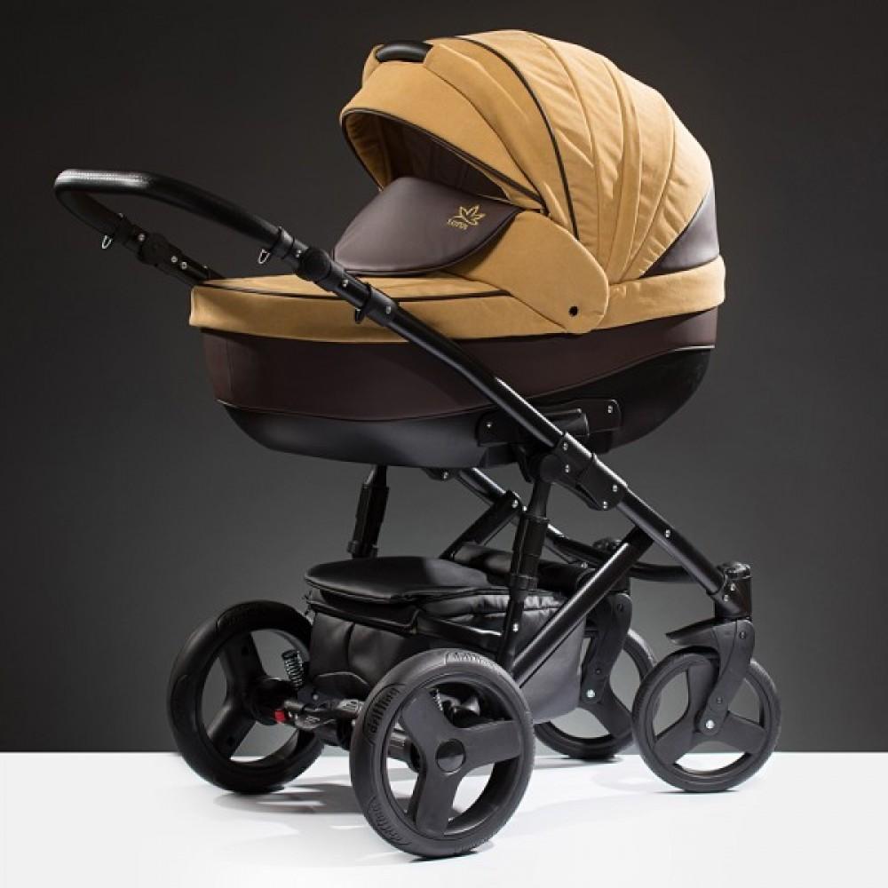 Детская коляска Esperanza Lotus Puento 3 в 1 (желтый)
