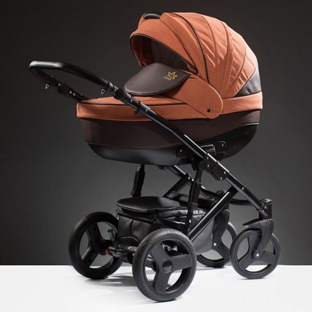 Детская коляска Esperanza Lotus Puento 3 в 1 (оранжевый)