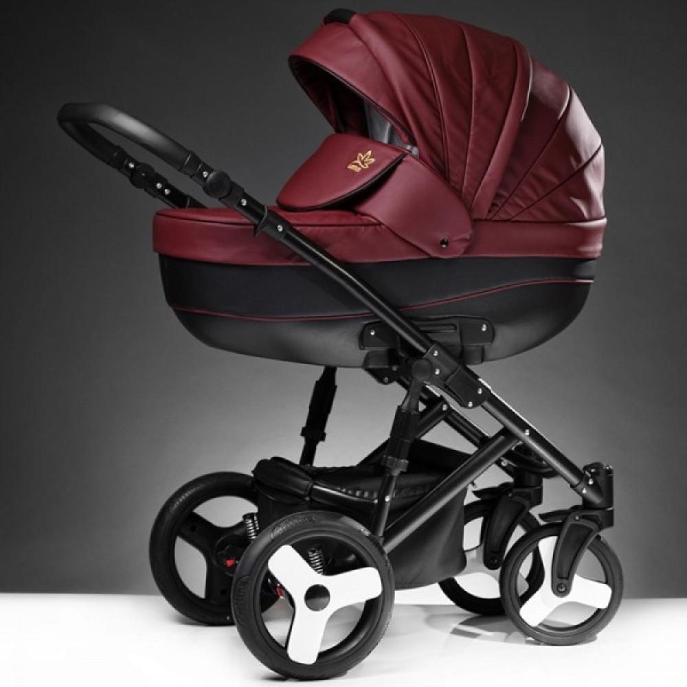 Детская коляска Esperanza Lotus Sport Eco 3 в 1 (бордовый)