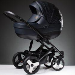 Детская коляска Esperanza Lotus Sport Eco 3 в 1 (темно-синий)