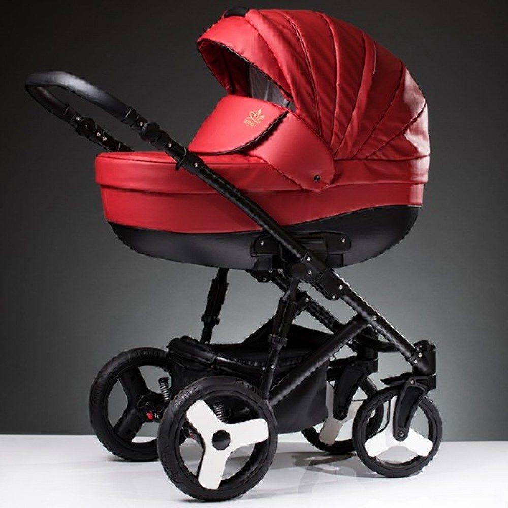 Детская коляска Esperanza Lotus Sport Eco 2 в 1 (красный)