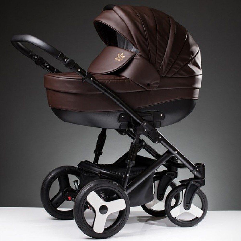 Детская коляска Esperanza Lotus Sport Eco 2 в 1 (коричневый)