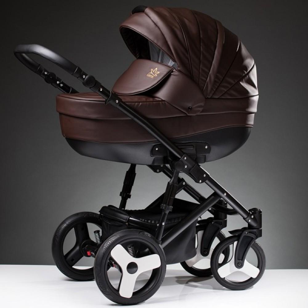 Детская коляска Esperanza Lotus Sport Eco 3 в 1 (коричневый)