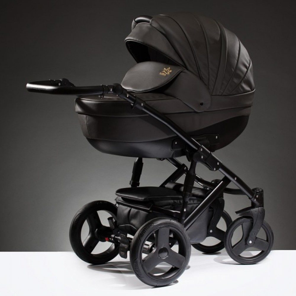 Детская коляска Esperanza Lotus Sport Eco 3 в 1 (темно-коричневый)
