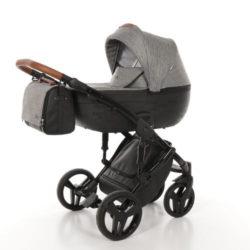 Детская коляска Junama City 2 в 1 (темно-серый)