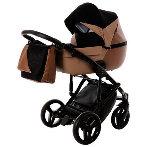 Детская коляска Junama City Geographic 3 в 1 (коричневый)