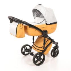 Детская коляска Junama Madena 3 в 1 (оранжевый)