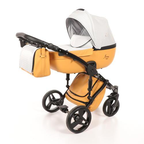 Детская коляска Junama Madena 2 в 1 (желтый)