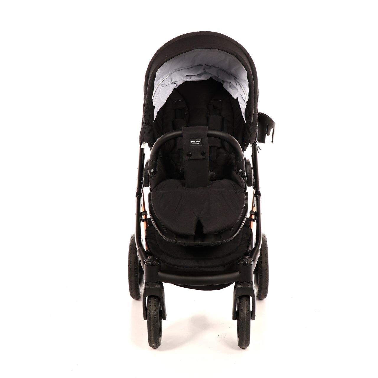 Коляска детская 3 в 1 TAKO JUMPER-V (черный)