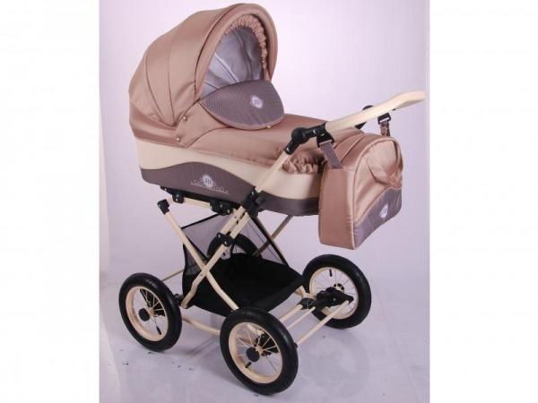 Детская коляска LONEX JULIA BARONESSA NEW 3 В 1 (коричневый)