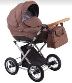 Детская коляска LONEX PARRILLA 3 В 1 (коричневый)