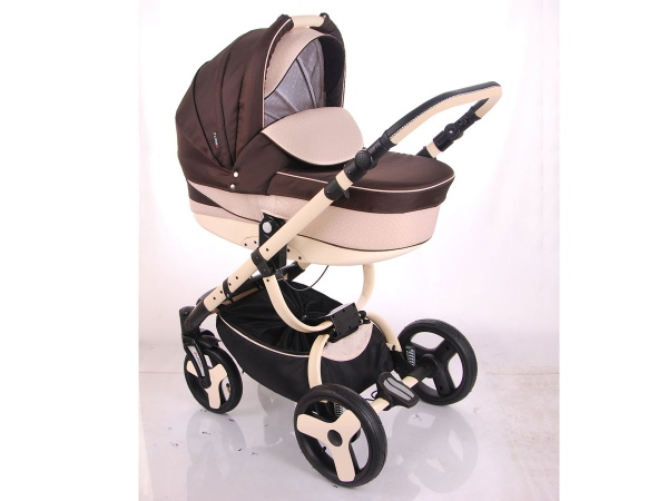 Детская коляска LONEX SANREMO 2 В 1 (коричневый)