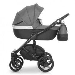 Детская коляска Expander Enduro 3в1 (серый/белый)
