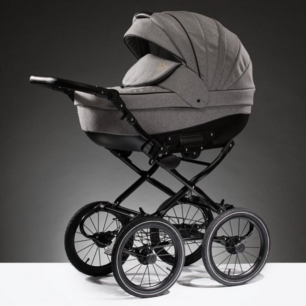 Детская коляска Esperanza Lotus Classic Eco 2 в 1 (серый)