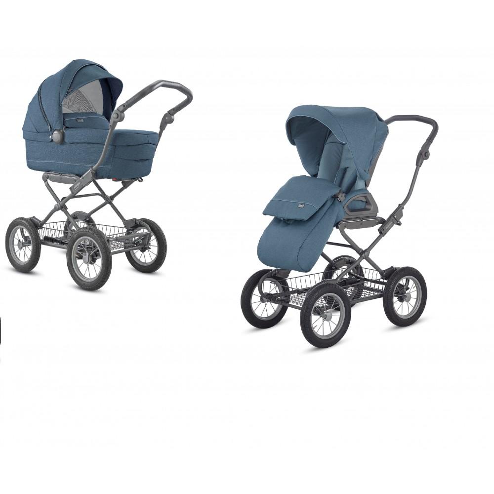 Детская коляска Inglesina SOFIA DUO 2 в 1 (голубой)