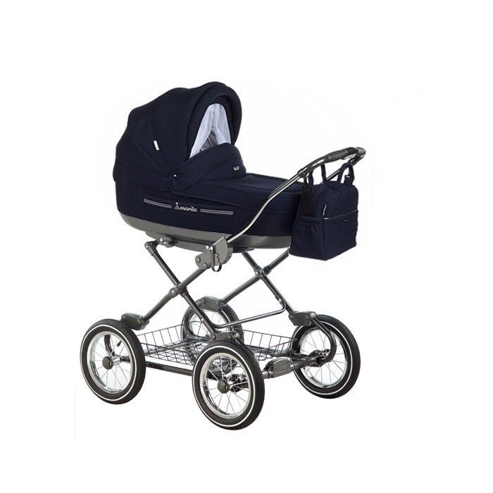 Детская коляска Roan Marita Prestige 2 в 1 (темно-синий)