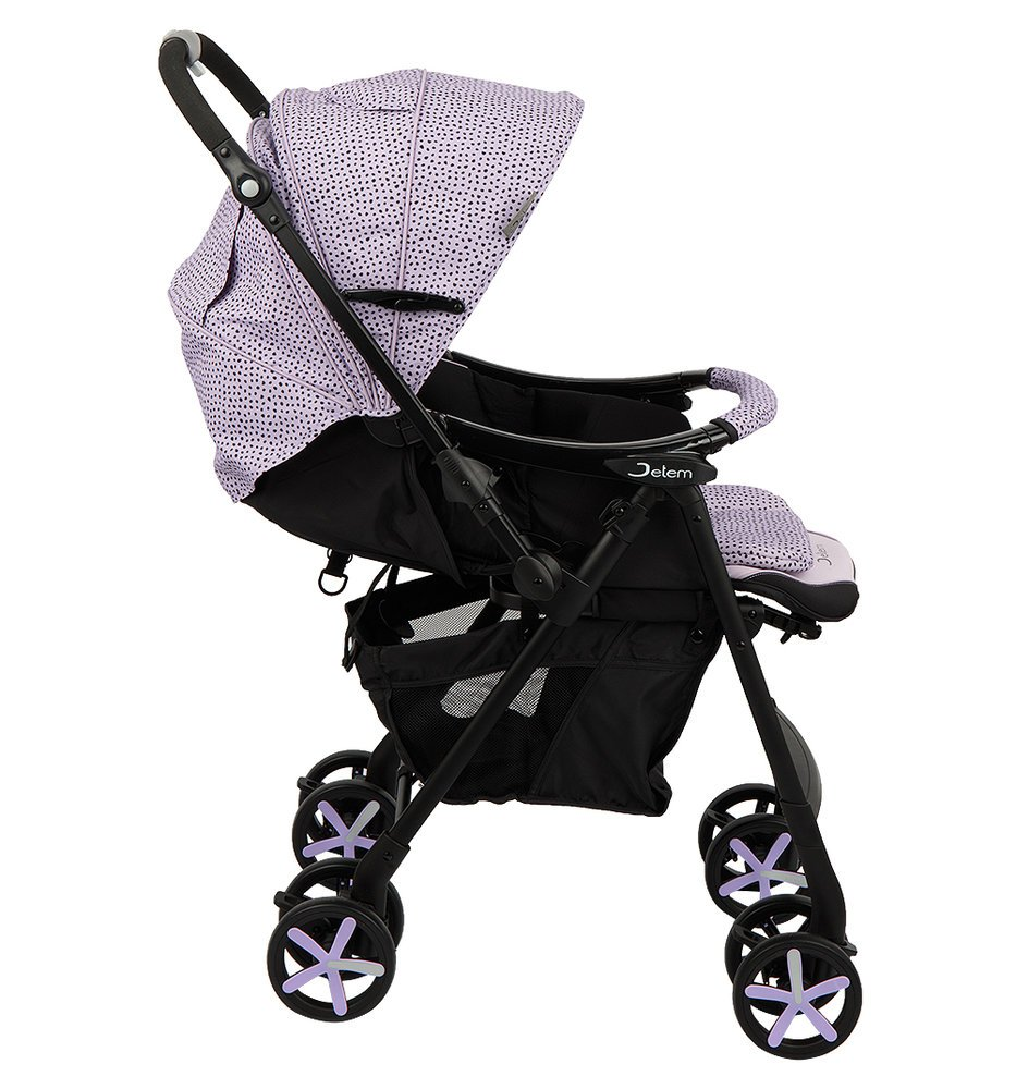 Коляска прогулочная Jetem Graphite (фиолетовый)
