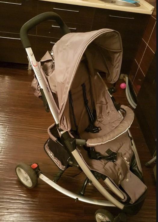 Детская коляска Jetem Tokyo (коричневый)
