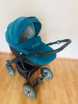 Детская коляска LONEX SWEET BABY 2 В 1 (голубой)