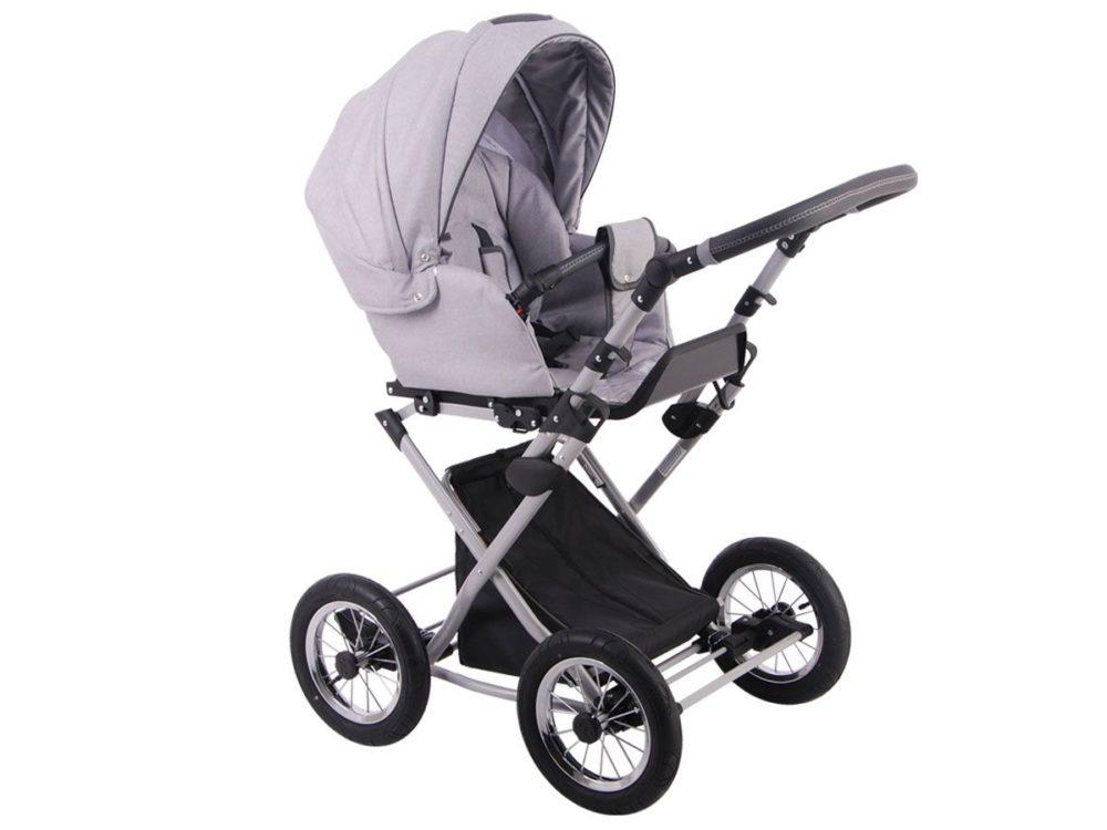 Детская коляска LONEX PARRILLA 3 В 1 (серый)