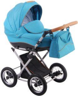 Детская коляска LONEX PARRILLA 3 В 1 (голубой)