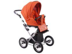 Детская коляска LONEX PARRILLA 3 В 1 (оранжевый)