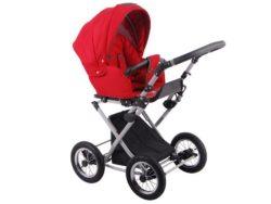 Детская коляска LONEX PARRILLA 3 В 1 (красный)