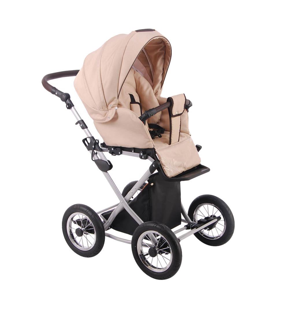 Детская коляска LONEX PARRILLA 3 В 1 (бежевый)