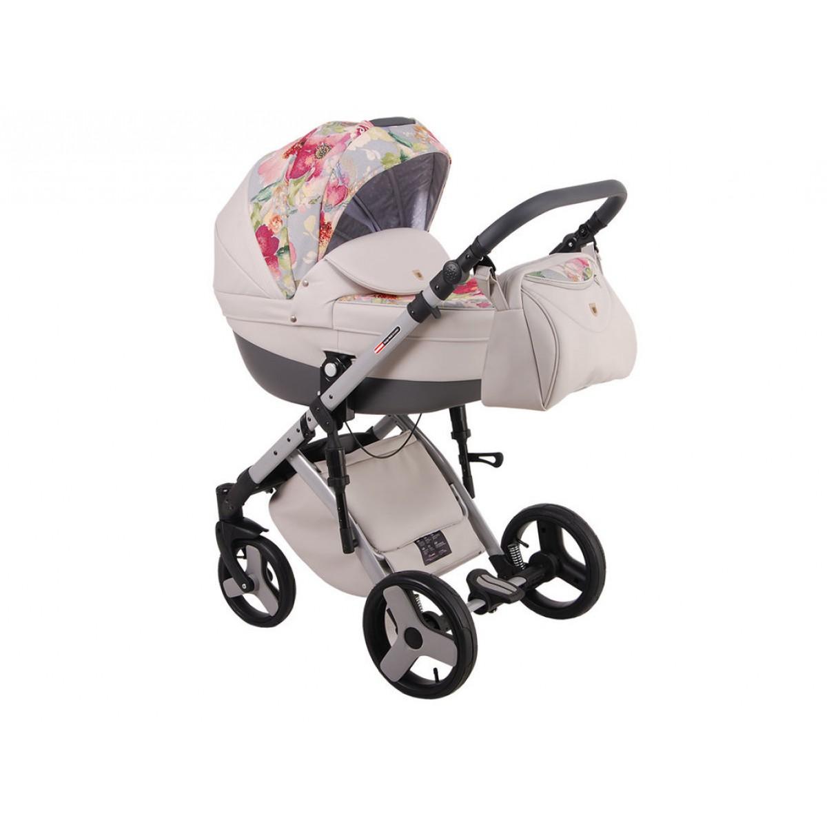 Детская коляска LONEX COMFORT CARRELLO 3 В 1 (бежевый)