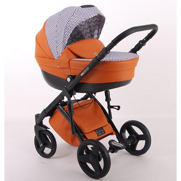 Детская коляска LONEX COMFORT GALAXY 3 В 1 (оранжевый)