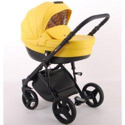 Детская коляска LONEX COMFORT GALAXY 3 В 1 (желтый)