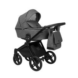 Детская коляска LONEX EMOTION XT 3 В 1 (темно-серый)
